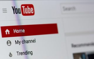 Youtube Home Page Image