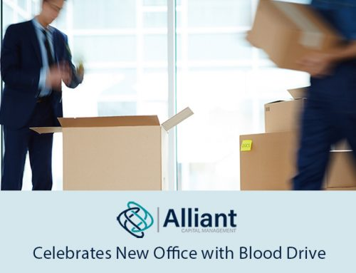 Alliant Capital Management Celebrates New Office with Blood Drive